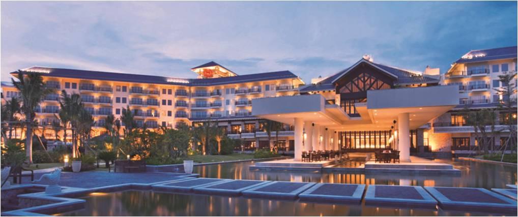 惠州巽寮湾金海湾喜来登度假酒店-豪华海景双床房