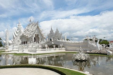 【尚·深度】泰国清迈、清莱5天*风情之旅<大象营与象同乐,神秘长颈族,素贴山上双龙寺,人蛇表演>