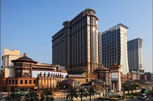 澳门金沙城中心康莱德酒店-铁塔景观豪华双床房