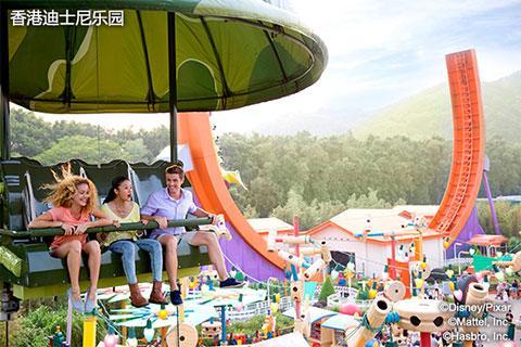 【乐园】香港迪士尼乐园2天*单程*直通巴士<DB>