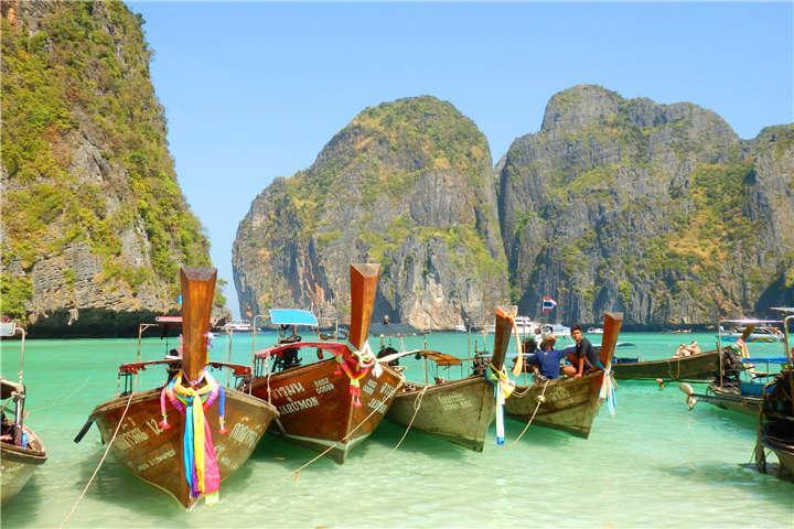 【当地玩乐】泰国普吉1天*法拉利号合金快艇:大小皮皮岛+蜜月岛+蛋岛一日游