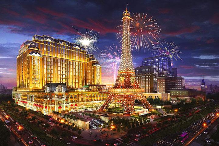 澳门巴黎人酒店-豪华双床客房-含双早