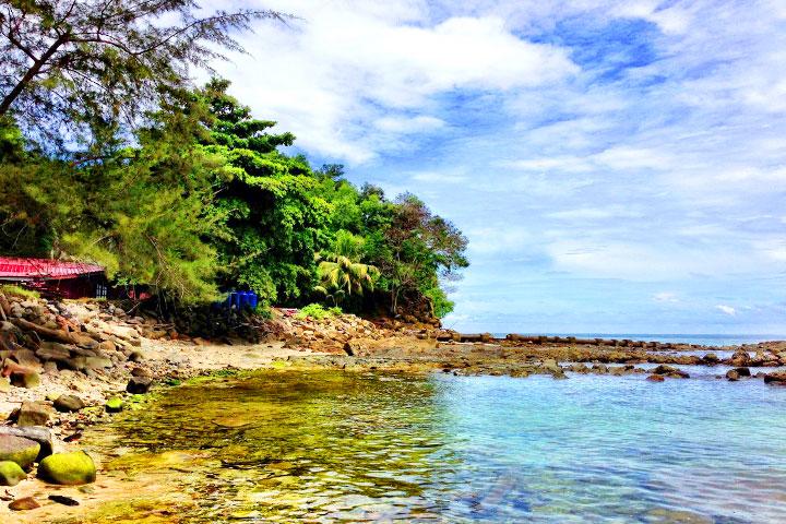 【典·休闲】马来西亚沙巴5/6天*双岛联游*浮潜体验+香蕉船<沙比岛+马努干岛联游,海边酒吧街看日落,水果园水果大餐,长鼻猴+萤火虫>