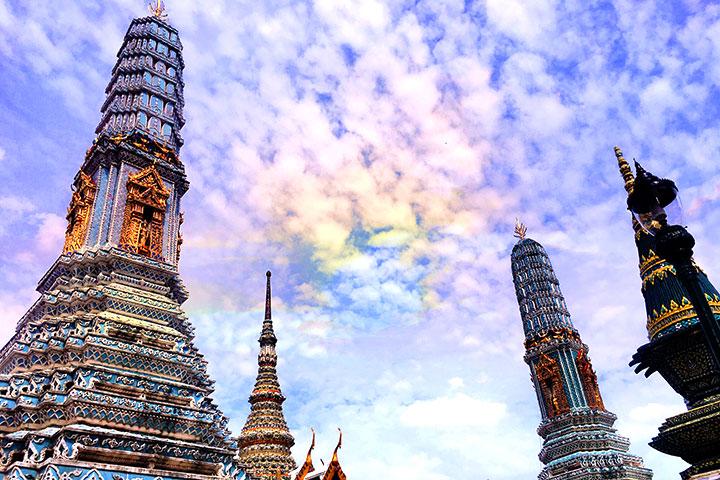 【乐·博览】泰国曼谷、芭堤雅6天*吃喝玩乐<东芭乐园,乱打秀表演,快艇畅玩双岛>