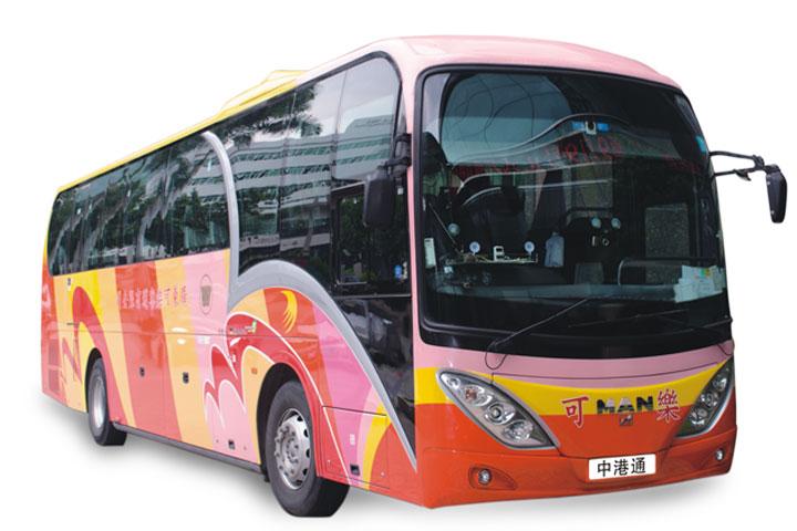 香港中港通巴士票-中港通巴士 电子票 香港机场单程 广州市区至香港机场或香港机场至广州市区 可实时查询余位